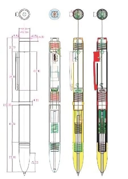 ペン型ボイスレコーダーVR-P003Rリニューアル