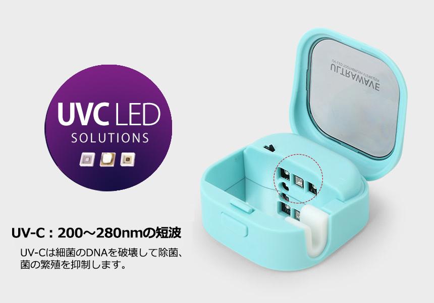 充電式歯ブラシ除菌キャップ
